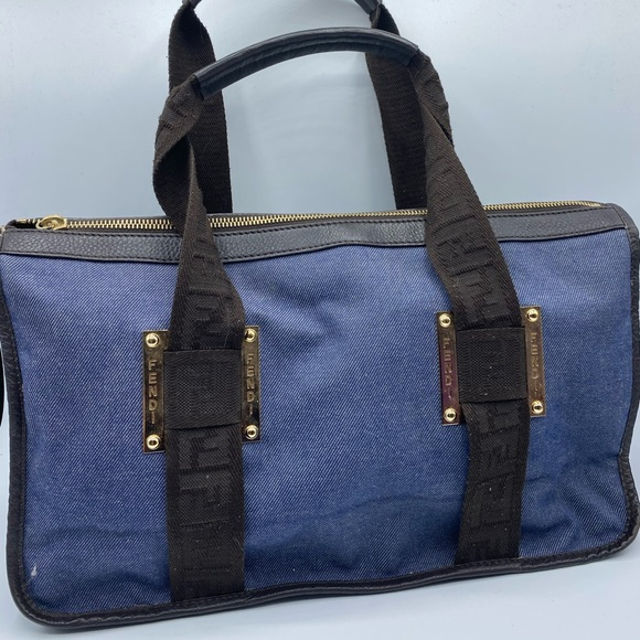 Fendi Handbags - Fendi Denim Authentic Satchel bag